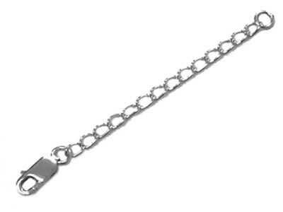 £3.65 • Buy 925 Sterling Silver 2  Chain Extender Necklace Bracelet Lobster Clasp