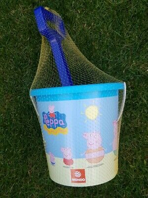 Peppa Pig Beach Bucket And Spade Sand Pit Toy Set Seaside Holidays • 9.95£