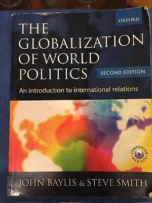 £6 • Buy The Globalization Of World Politics: An Intro. To International Relations 2nd Ed