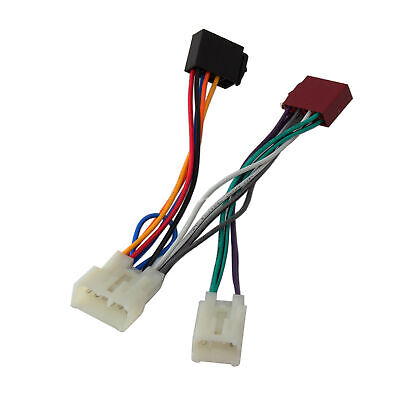 $11.89 • Buy Car Stereo ISO Wiring Harness Adapter Connector For Toyota Avensis Camry Celica