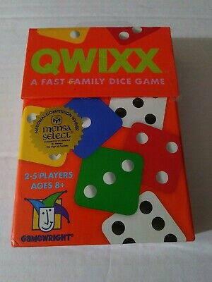$ CDN12.65 • Buy Qwixx A Fast Family Dice Game Gamewright