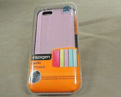 AU12.86 • Buy **NEW** Spigen Capella For  Apple IPhone 6 Case PINK New In Box