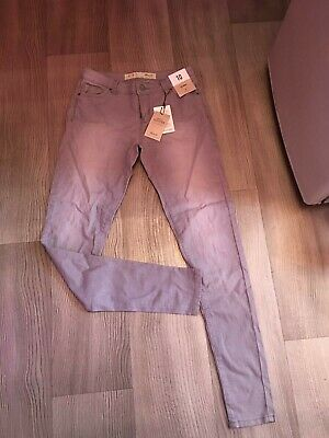 AU18 • Buy Grey Skinny Jeans Size 10 Unwanted Christmas Present Gift