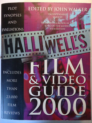 £3.99 • Buy Halliwell's Film And Video Guide: 2000 By Leslie Halliwell (Paperback, 1999)