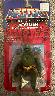 $175 • Buy Masters Of The Universe (MOTU) Moss Man (Wave 4, 1985) NIB
