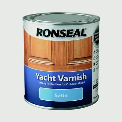 Yacht Varnish Satin, 500ml, By Ronseal • 18.79£