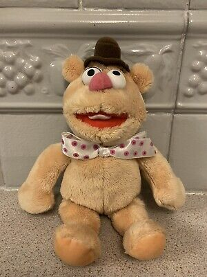 £5.50 • Buy FOZZIE BEAR PLUSH SOFT TOY 9  THE MUPPETS Retro Collectable