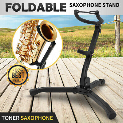 AU26.94 • Buy Up To 2X Saxophone Stand Tripod Folding Holder For Alto Tenor Sax Portable GIFT