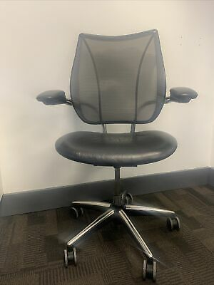 Humanscale Liberty Leather Seat Office Chair, VAT INCLUDES. • 275£