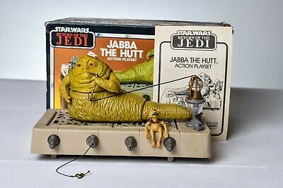 $ CDN129.71 • Buy Vintage Star Wars - PLAYSET - JABBA THE HUTT 100% COMPLETE W/ BOX - Kenner
