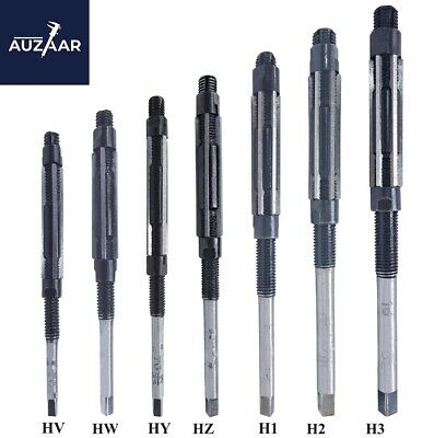 7 Pcs Set Adjustable Hand Reamer 7 Pieces Size HV To H3 ,1/4  Inch -15/32  Inch • 18.79£