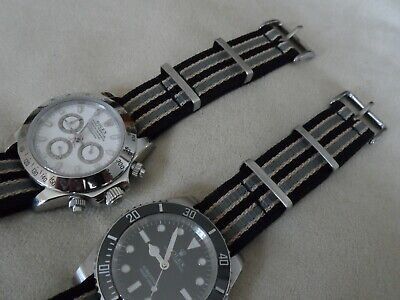 James Bond Nato Style Watch Strap For Omega Seamaster No Time To Die Spec 20 Mm • 19.95£