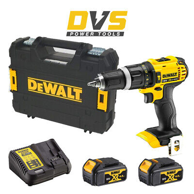 DeWalt DCD785M2 Cordless 18V XR 2 Speed Compact Combi Drill Set With Case • 209.90£