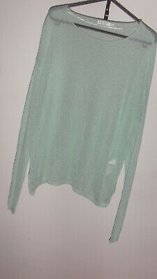 AU9 • Buy  BERSHKA BSKGIRL  Long Sleeve Knit Top, Size M, Acrylic, Polyamide