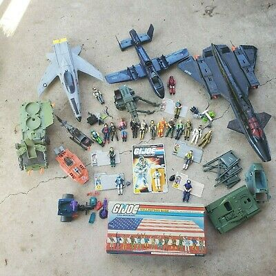 $ CDN478.46 • Buy Vintage GI Joe Lot -- Figures, Accessories, Vehicles And Cards