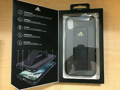 AU11.74 • Buy Adidas Grip Case Black For Iphone X New In Box