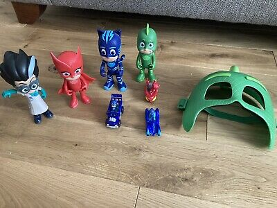 Pj Masks Toys Bundle Mask, Vehicles & Figures  • 9.70£