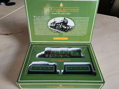 Hornby Twin Tender Limited Edition Flying Scotsman Locomotive OO - Immaculate • 185£