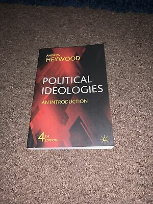 Political Ideologies: An Introduction By Andrew Heywood (Paperback, 2007) • 2.57£