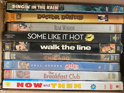 $ CDN1.26 • Buy 9 Movie DVD Lot - Classics Musical Coming-Of-Age Variety