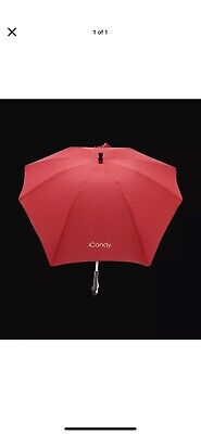 ICandy Sun Parasol Canopy Red Brand New With Tags • 15£