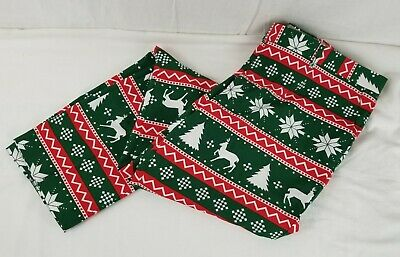 $34.99 • Buy OPPO SUITS Size 44 Men's Christmas PANTS ONLY! Green Red Dress Holiday 42 40