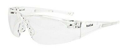 £6.50 • Buy Bolle Safety RUSHPSI RUSH Safety Glasses Clear Plus Neck Cord