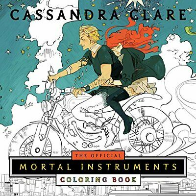 The Official Mortal Instruments Coloring Book, Paperback, Colouring/join-the-do • 16.16£