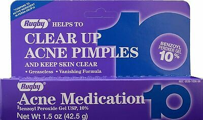Rugby , OXY 10% Benzoyl Peroxide 42.5G  Acne Medication Gel  Exp 01/22 UK SELLER • 9.40£