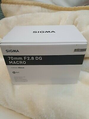 Sigma 70mm F2.8 DG Art L-Mount MACRO Lens For Panasonic Leica S5 S1  • 389£