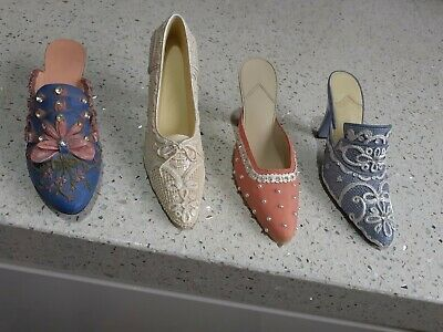 Model Collectable Shoes X 4, All In Excellent Condition • 1.20£