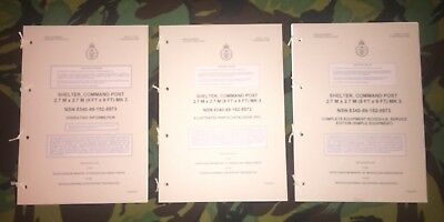 9x9 Tent Command Shelter Handbook Manual Instructions Land Rover Wolf • 15£