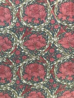 Liberty Jubilee Wool Cotton 6 Metres Lantana Viyella Warm Vintage Fabric • 129£