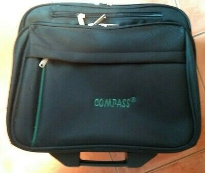COMPASS Briefcase/Business/Travel/Work/Sport /Laptop/gym Bag Great Gift • 27.50£