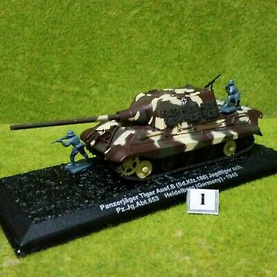 £9.95 • Buy 8) DeAgostini 1/72 Combat Tanks. JAGDTIGER (CAMO TYPE 2). See Purchase Options