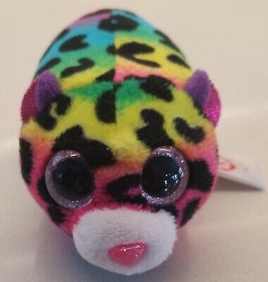 $ CDN10.13 • Buy New Without Tags TY Beanie Boos Teeny 4  JELLY Leopard Plush Stuffed Toy
