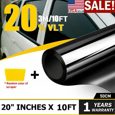 $16.85 • Buy 3M Uncut Window Tint Roll 35% VLT 20  10ft Feet Home Office Car Auto Film US