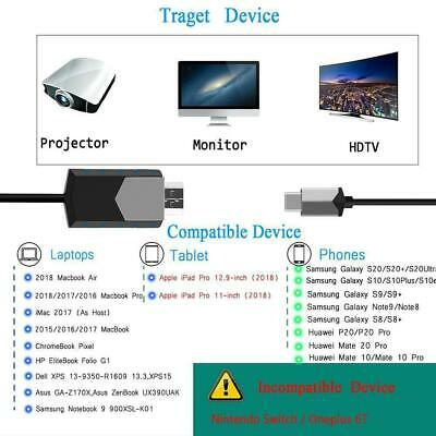 $ CDN14.85 • Buy USB Type C Male To HDMI 1080P HDTV TV Cable Adapters For Android Phone Macbook
