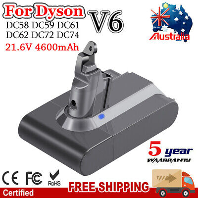 AU41.99 • Buy 4600mAh For Dyson Battery Replacement Vacuum Stick DC58 DC59 V6 Animal 967810-21