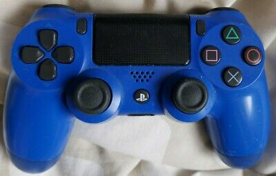 Genuine Sony PS4 Official Wireless Controller Dualshock 4 Blue • 20£
