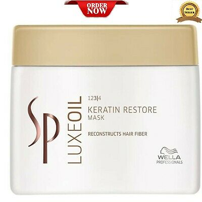 Wella SP Luxe Oil Keratin Restore Mask System Professional 400ml • 26.99£