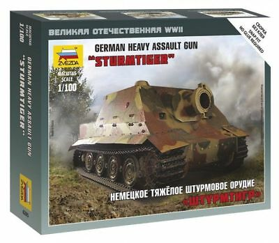 AU12.06 • Buy Zvezda 1/100  Sturmtiger  German Heavy Assault Gun # 6205