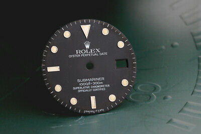 $ CDN442.02 • Buy Rolex Submariner Tropical Black Dial For 16800 - 168000 FCD11827