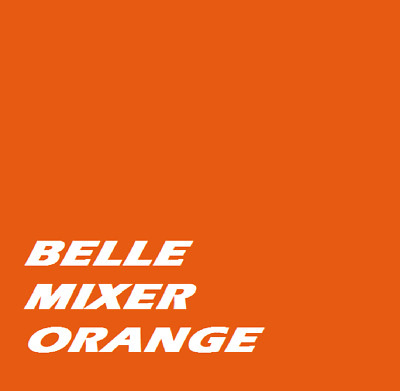 £19.95 • Buy BELLE MIXER ORANGE  Machinery Tractor 1ltr Of Enamel Paint Brush Or Spray On