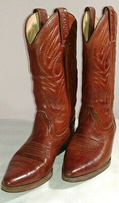 £33 • Buy Women's Sancho Cowboy Boots All Leather Western Size 36 ....