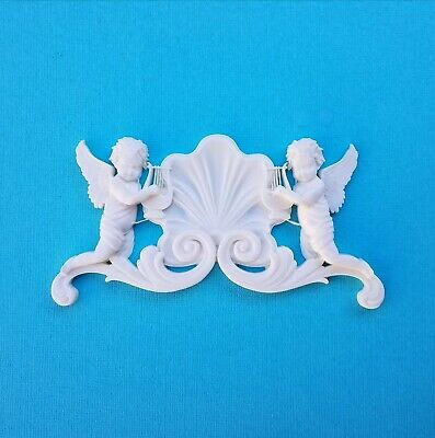 AU12.45 • Buy 1x Shabby Chic Cupid French Furniture Moulding Furniture Applique Carving Onlay