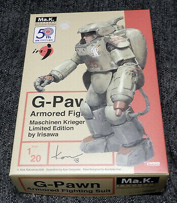 $70 • Buy Maschinen Krieger Ma.K (SF3D) 1/20 AFS G-Pawn Limited Edition Wave US SELLER!