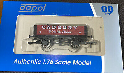Dapol Cadbury Bournville 4 Plank Coal Wagon Limited Edition. • 15£