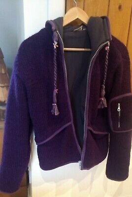 Pachamama Deep Purple Hippy Boho Cardigan. S/M 10/12 *Excellent Condition* • 45£