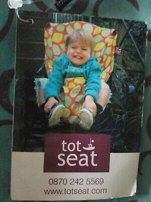 Tot Seat. Portable Chair Seat For Eating, Drawing Or Static Play. • 2.40£